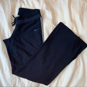 vintage navy blue Nike women's track pants